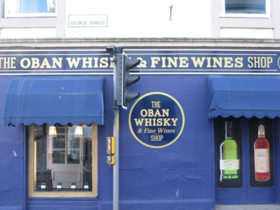 Oban Whisky Shop