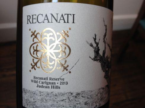 Recan Wild Carignan Label