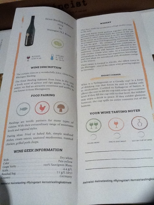 wineist paper