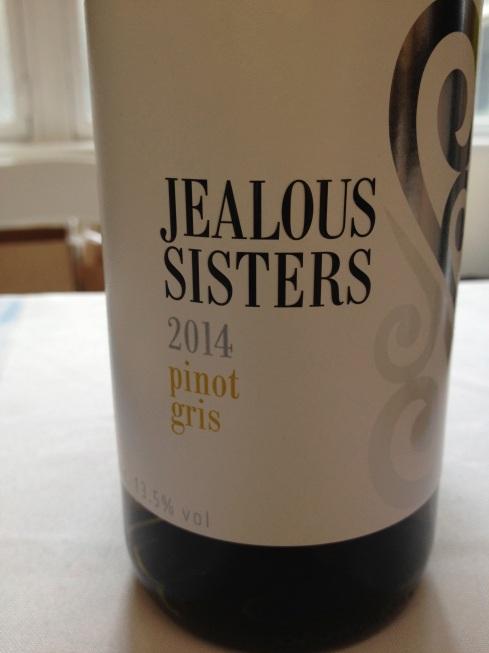 Jealous Sisters Pino Gris