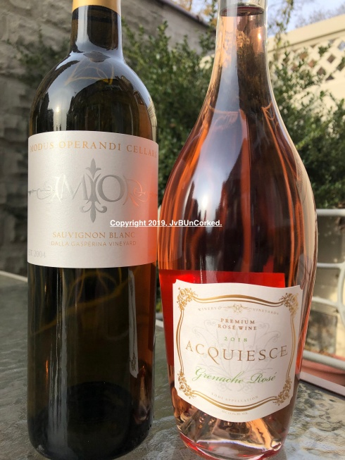 Modus Sauvignong Blanc and Acqueice Grenache Rosé